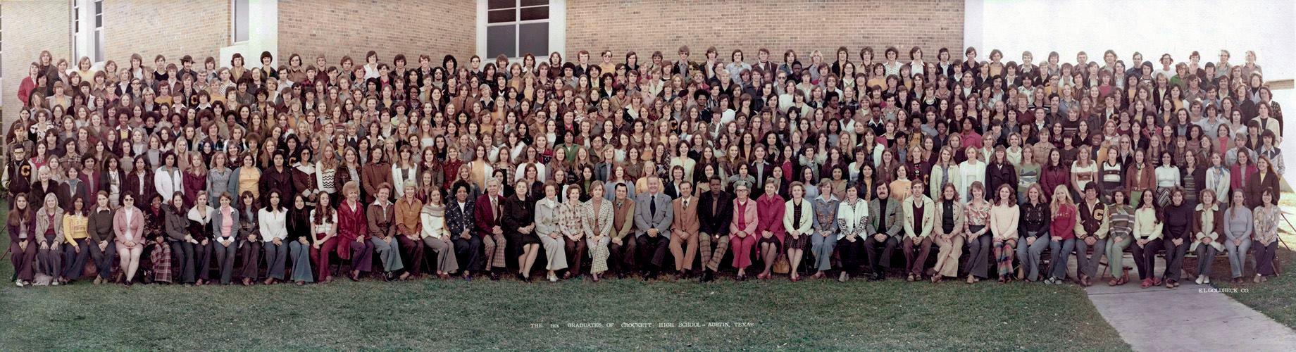 David Crockett High School Class of 76